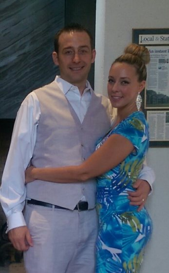 Tom and Christina Haas